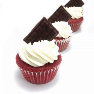 Rosy Red Velvet Cupcakes (Set of 12)