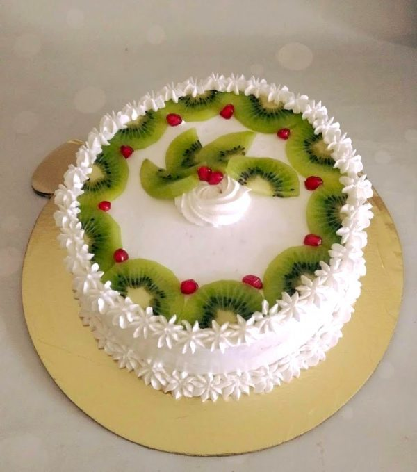 Dairy Free Fresh Fruit Cake