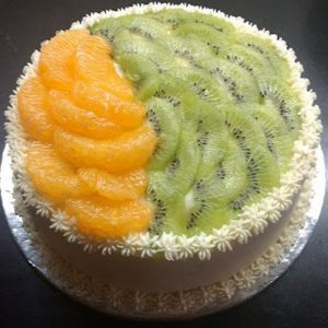 Gluten Free Fresh Fruit Cake