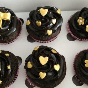 Valetine's Chocolate Cupcakes