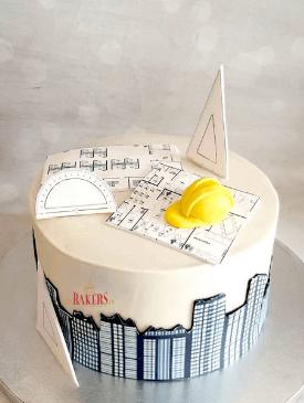 Architect Theme Cake
