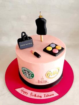 Fashion Designer & Makeup Cake