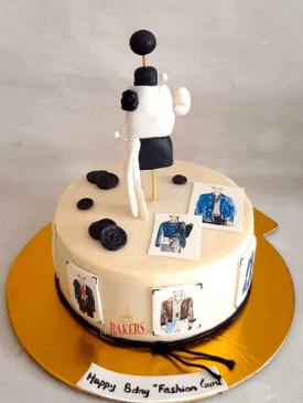 Men's Fashion Designer Cake
