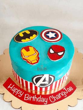 Superhero Avengers Cake