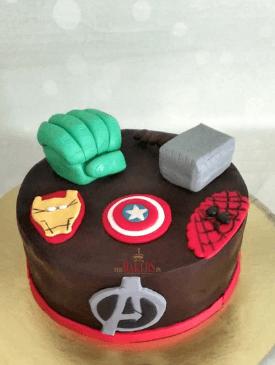 Superhero Chocolate Cake