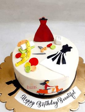 Fashion Designer & Scooty Cake