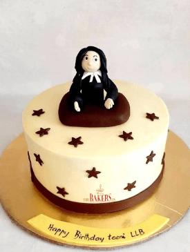 Woman Judge Cake