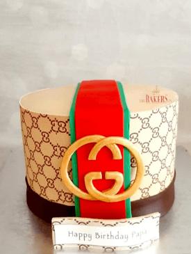 Gucci Theme Cake
