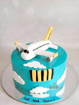 Pilot Theme Cake