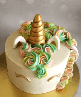 Pretty Unicorn Cake